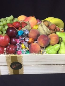73 - Fruit Crate with Chocolates