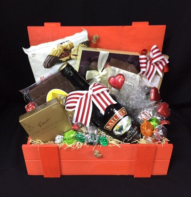 Chocolate baskets archives baskets of delight 58 baileys cream hamper negle Gallery
