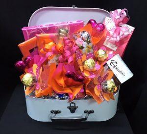Gift baskets for her archives baskets of delight 04 vintage case plus negle Images