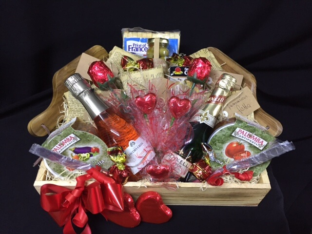 Thank you baskets archives baskets of delight 17 gourmet fresh bubbly hamper negle Gallery