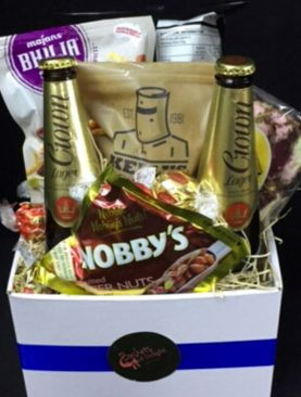 64 - BEER AND NIBBLES GIFT BOX