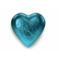 HEART TEAL 8g - MILK CHOCOLATE