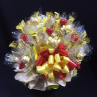 14 -CHOCOLATE BOUQUET - LOVE MY TOBLERONE
