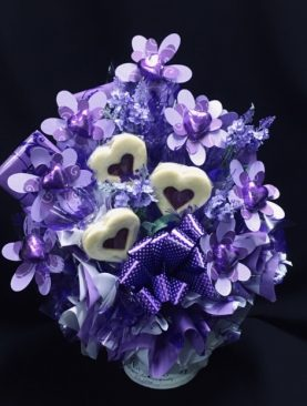 15 - FRENCH PROVENCALE CHOCOLATE BOUQUET (LAVENDER)