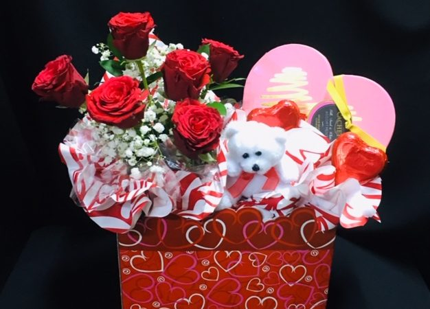 """Our """"Sharing the Love"""" range of Valentine's Baskets will be available soon…."""