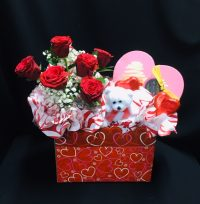 "Our ""Sharing the Love"" range of Valentine's Baskets will be available soon…."