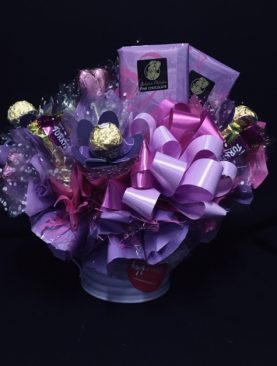 03 - WATERING CAN CHOCOLATE BOUQUET