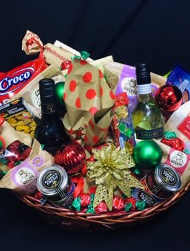 41 - CHRISTMAS DELIGHTS  - FESTIVE DELUXE WITH WINE